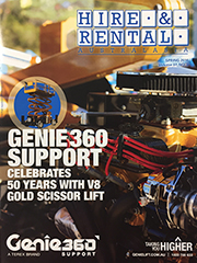 Hire & Rental magazine cover