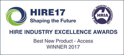 Best New product - HIRE 2017 INDUSTRY EXCELLENCE AWARDS