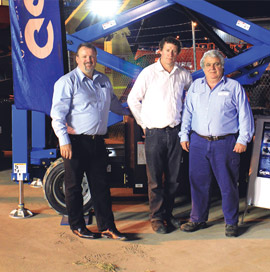 The function was a superb opportunity for Genie to display its new colour scheme as seen on the Genie® GS™-2669 RT  scissor lift.  a timely opportunity to present the new Genie® Operator Protective Structure (OPS) for members of the industry to see firsthand.