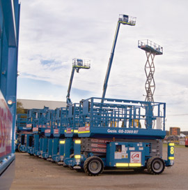 Access Hire, a specialist division of Access Group Genie Terex