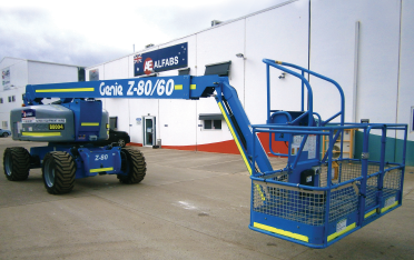 genie terex ALFABS WERE ONE OF THE FIRST COMPANIES IN AUSTRALIA TO ORDER AND INSTALL THE GENIE OPERATOR PROTECTION STRUCTURE (OPS)