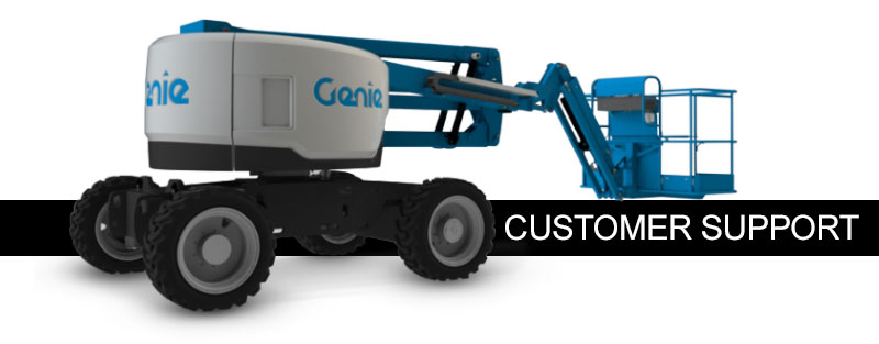 customer support genie terex