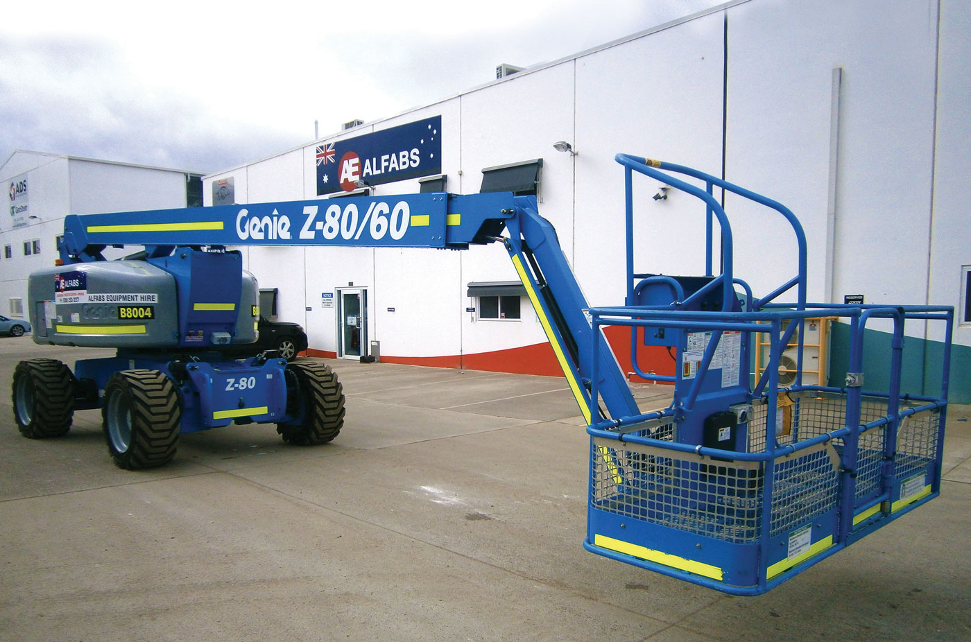 Alfabs were the first company to fit OPS to all Genie® units in their fleet. Up until about a year ago, Alfabs sourced access equipment for their contractual needs from a local   hire company.