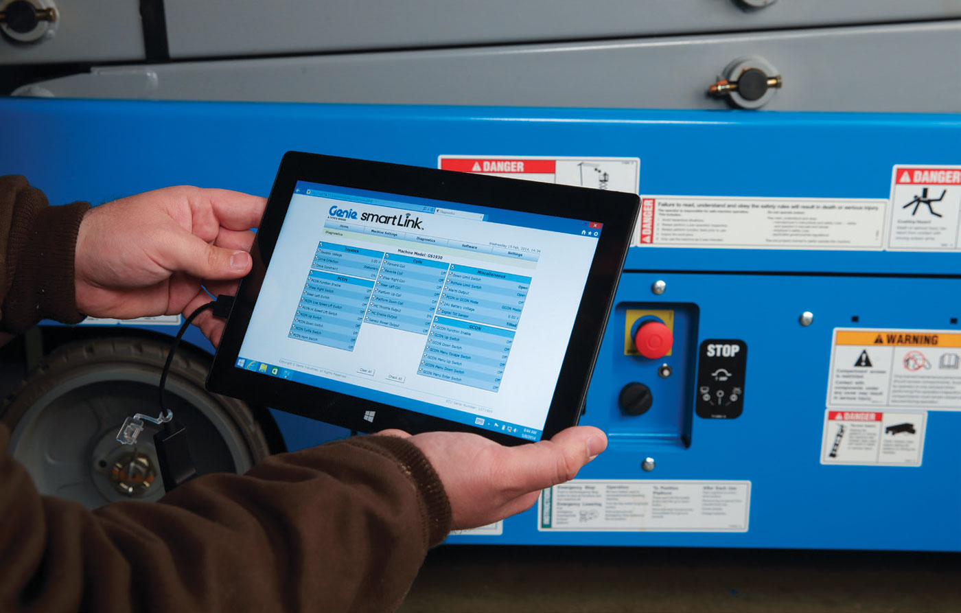 GENIE HAS RELEASED AN UPDATE TO ITS EXISTING SMARTLINK™ CONTROL SYSTEM