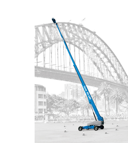 genie boom lift sx-180 australia terex machinery construction industrial highest boom lifts
