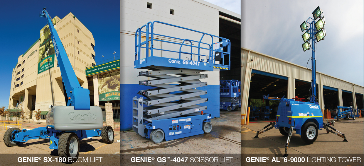launch official genie terex brand boom lift commerical construction australia gold coast april29th to may 2nd 2014